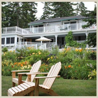 Downeast Maine accommodations at Inn at Bay Ledge in Bar Harbor